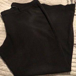 20W BLK dress pants